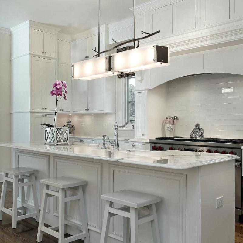 contemporary kitchen island lighting