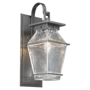 Lantern style outdoor sconce