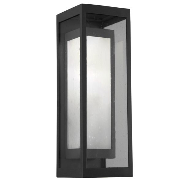Outdoor sconce lighting - double box