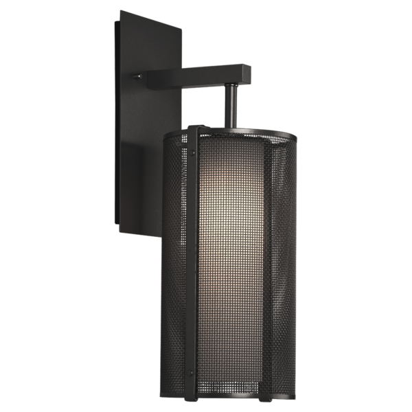 """Uptown Mesh Indoor Sconce with Frosted Glass 11""""H"""