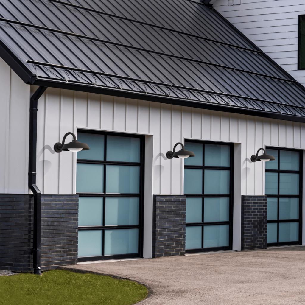 Modern farmhouse outdoor sconce lights.