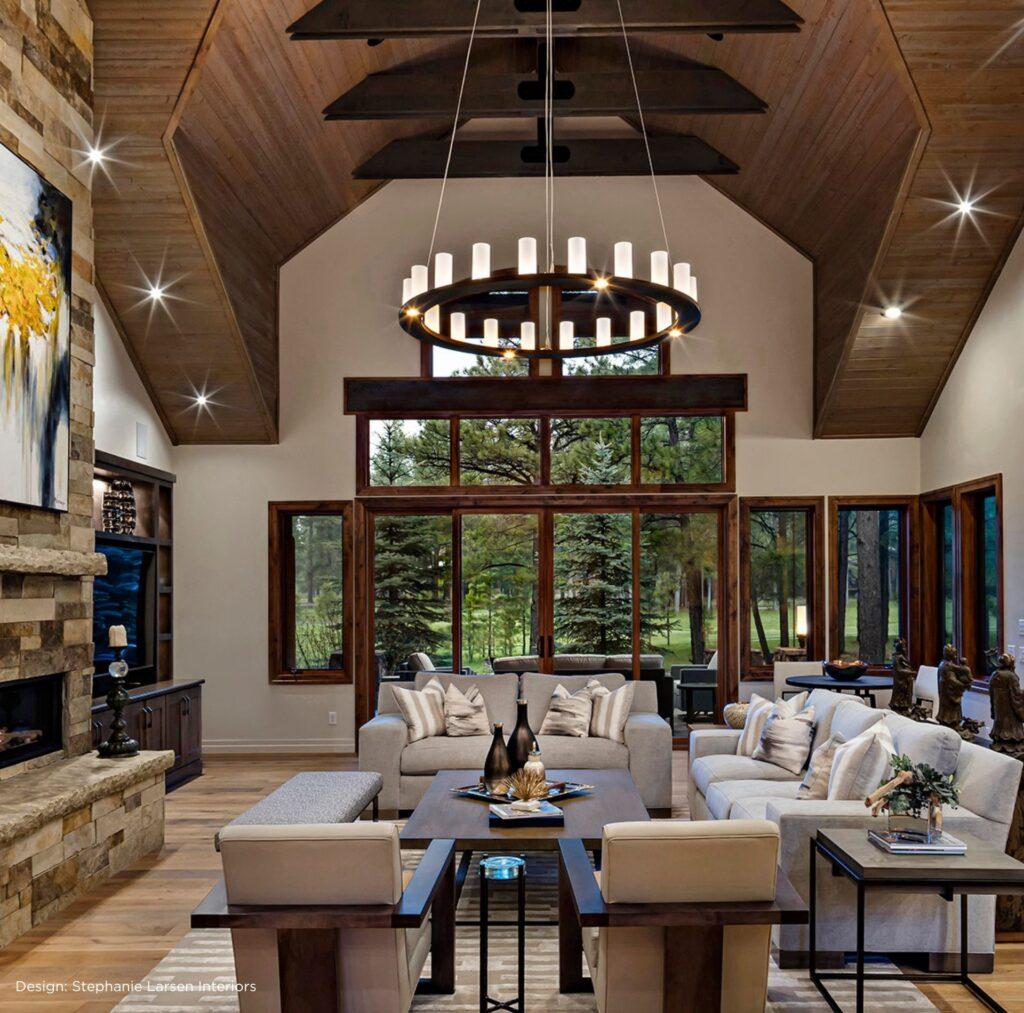 Santa Fe interior style lighting