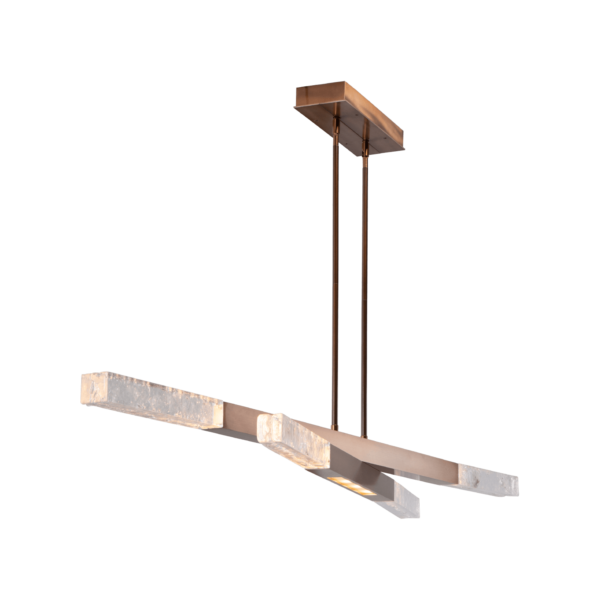 Axis Pivot Linear Suspension Chandelier