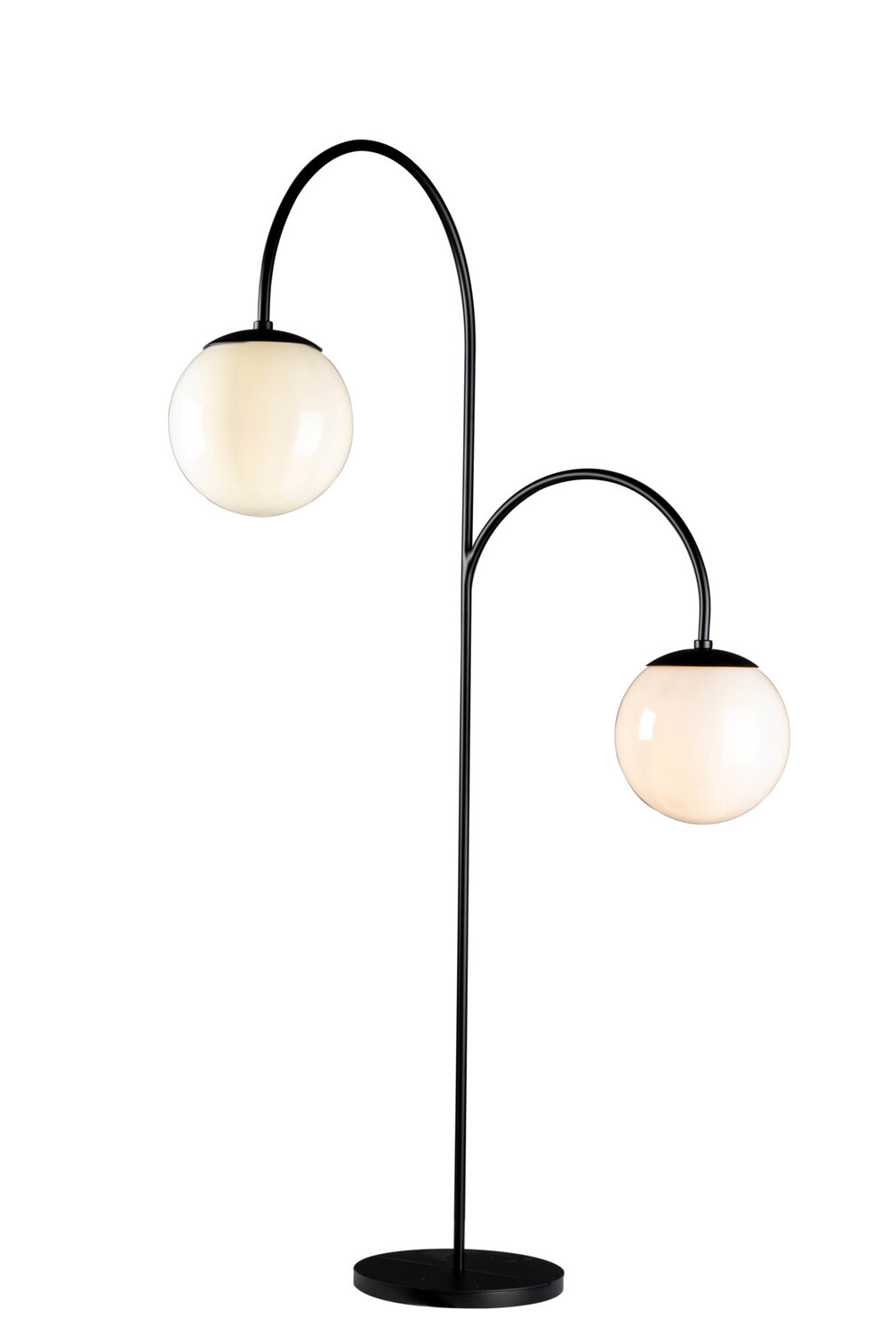 A whimsical floor lamp designed for Chicago's new Hayden Hall nods equally to vintage and modern style. Custom design #DFL-2-093-19A-C