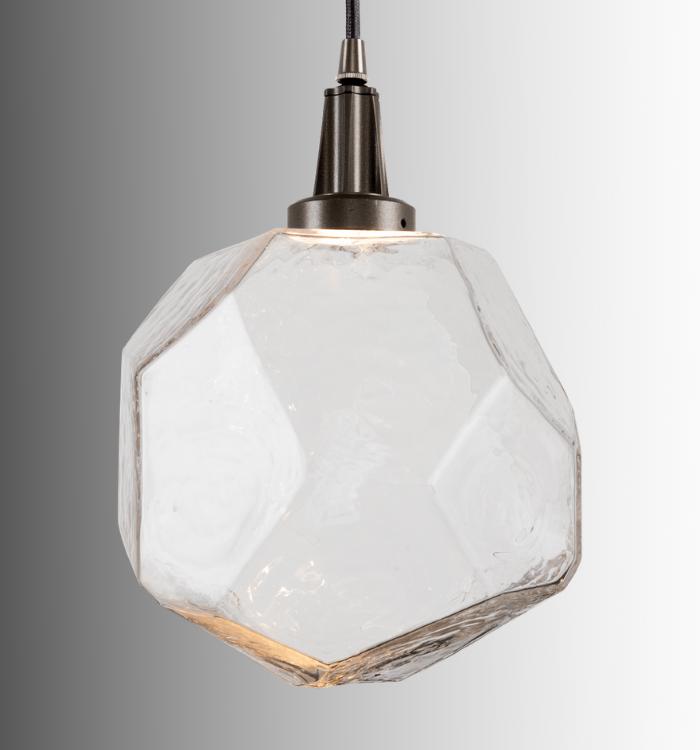 Hand blown glass pendant gems Product