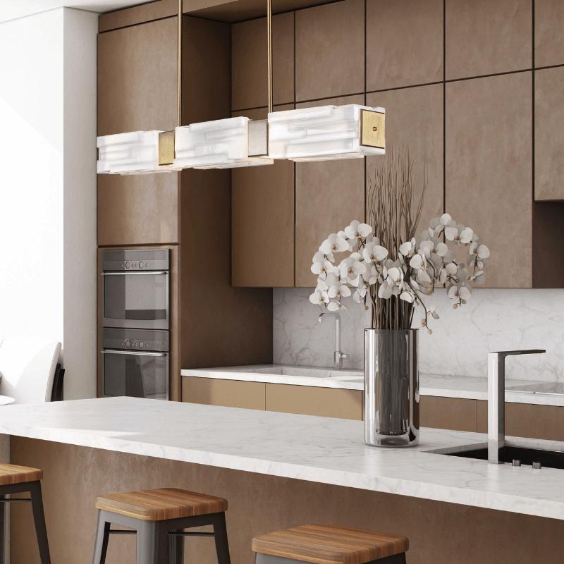 linear kitchen lighting
