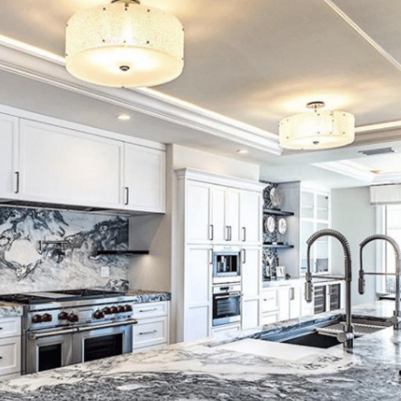 Flush mount kitchen lighting ideas