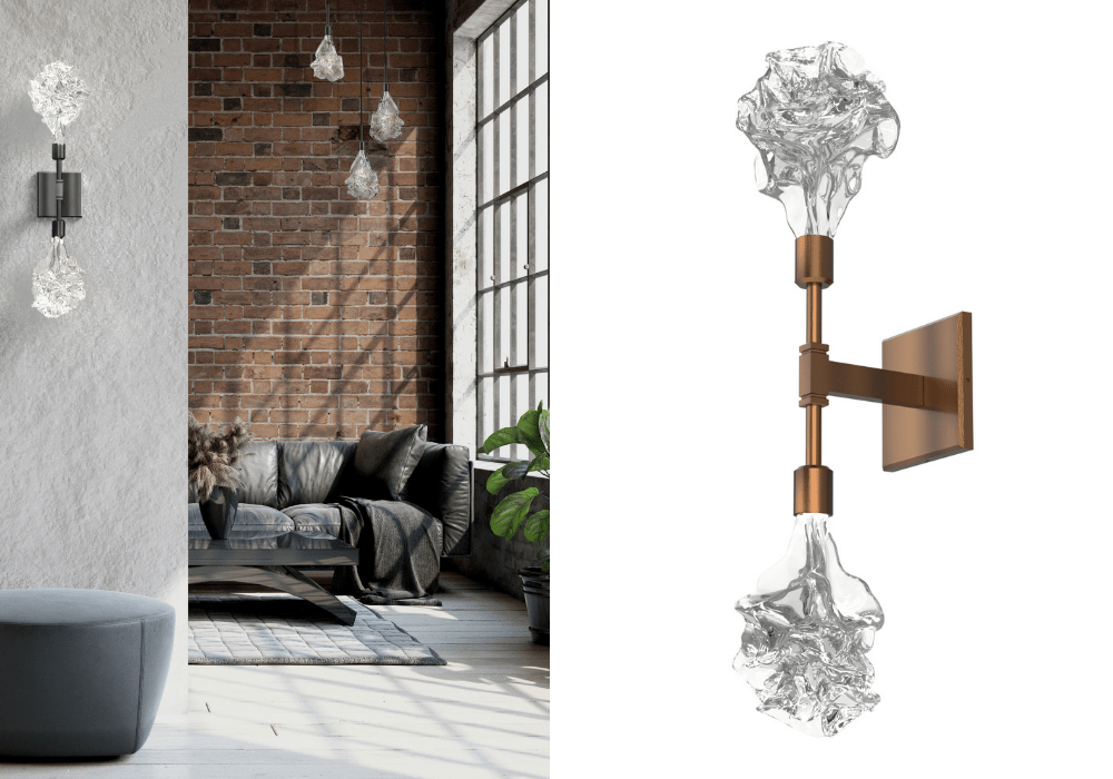 Blossom Double Wall Sconce