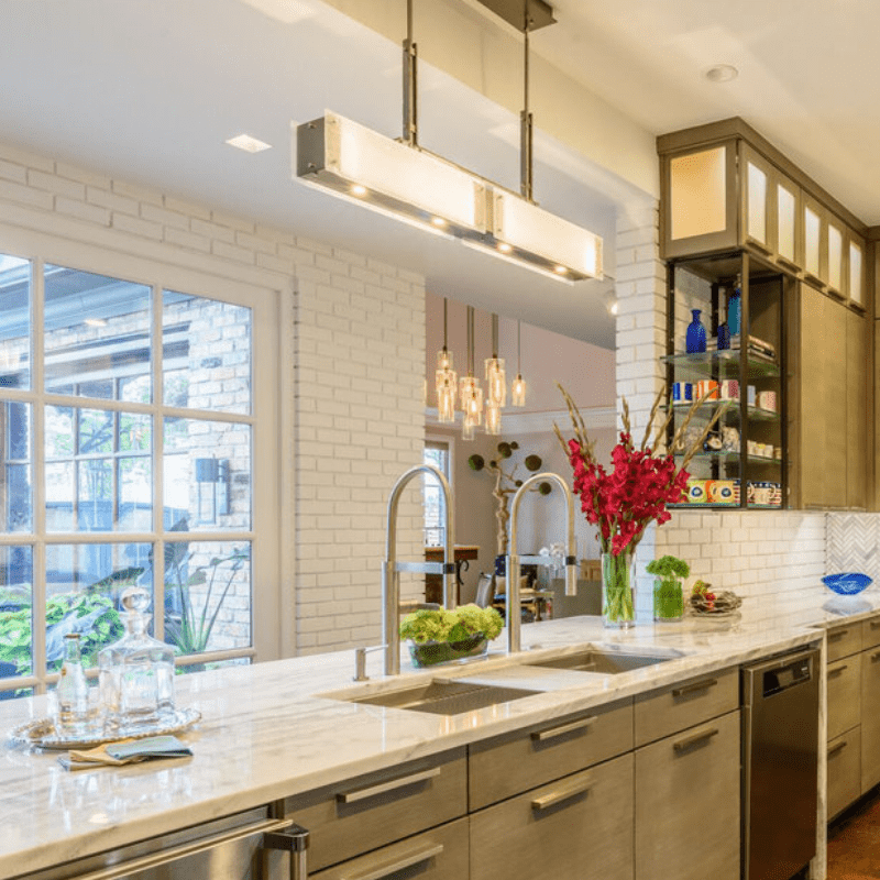 hanging light fixtures for kitchen island